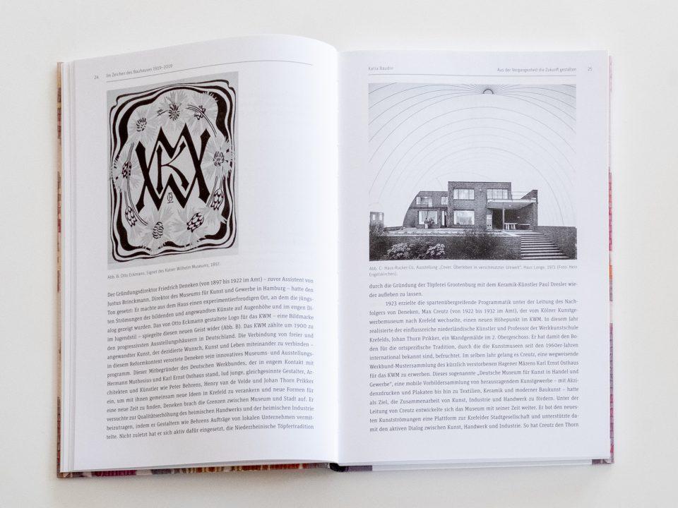 Im Zeichen des Bauhauses 1919–2019, Herausgegeben von Siegfried Gronert und Thilo Schwer für die Gesellschaft für Designgeschichte e.V. gfdg.org Beitrag Katia Baudin