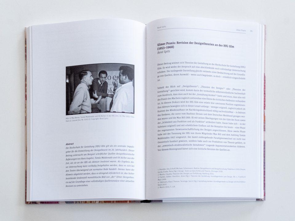 Im Zeichen des Bauhauses 1919–2019, Herausgegeben von Siegfried Gronert und Thilo Schwer für die Gesellschaft für Designgeschichte e.V. gfdg.org Beitrag René Spitz