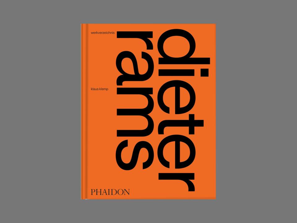 Werkverzeichnis von Dieter Rams Herausgegeben von Klaus Klemp, erschienen im Phaidon Verlag
