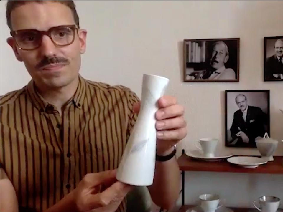 Designentscheidungen und ihre jeweilige Begründung – Interview mit Max Korinsky zur Form 2000 von Rosenthal, geführt von Melanie Kurz und Thilo Schwer