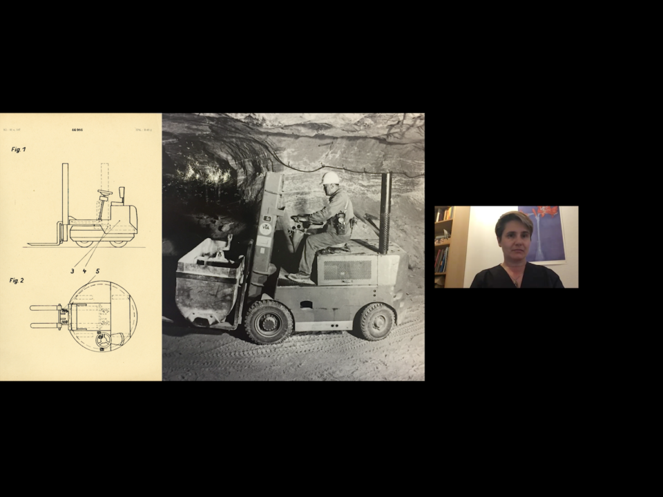 Designentscheidungen Johanna Sänger im Interview mit Melanie Kurz und Thilo Schwer über Designprozesse in den volkseigenen Betrieben der DDR (VEB) mit Fokus auf der Schwerindustrie